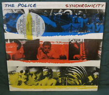 Police Synchronicity LP Holland AMLX 63735 Hype Sticker Original 1983 NM