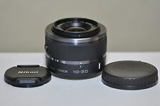Nikon 1 Nikkor  10-30mm f/3.5-5.6 VR Lens (Black) for Nikon 1 J1 J3 J4 J5 V1 V2