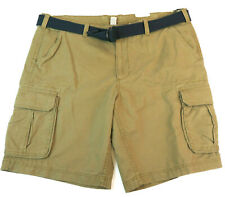 New SONOMA Men Flat-Front Solid Twill Chino Shorts 4 Colors Size 44-52 MSRP $50