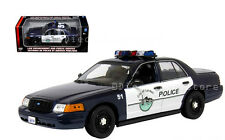 MOTOR MAX 1:18 POLICE FORD CROWN VICTORIA - CITY OF LYNDEN POLICE 73531
