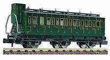 Abteilwagen 3ème Classe C6tf appartenant à la SNCF,avec guérite de frein/