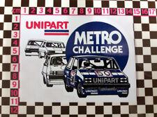 Austin Rover MG Metro Turbo Challenge Sticker