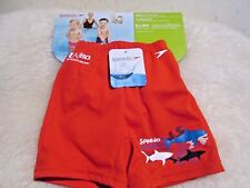 New with Tag - Speedo Uv swim diaper (Kids - s ) Red