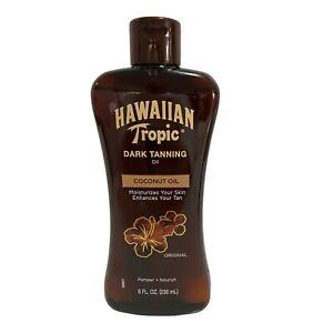 Hawaiian Tropic Dark Tanning Oil 8fl oz
