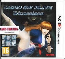 DEAD OR ALIVE DIMENSIONS - Nintendo 3DS - ITALIANO