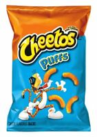 Cheetos Cheese Flavored Snacks, Jumbo Puffs, 8 Ounce (Pack of 4)