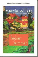 Indian Summer by Marcia Willett Advance Uncorrected Proof Softcover Book