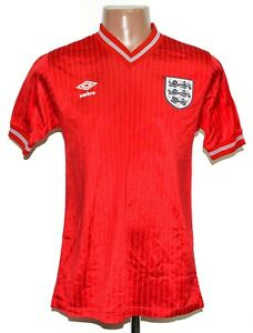 ENGLAND NATIONAL TEAM 1984/1985/1986 AWAY FOOTBALL SHIRT JERSEY UMBRO SIZE M