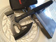 """Mtech Combat Survival War Axe Hammer Knife Ruler Tool 440 17"""" OA MT-AXE14 Sheath"""