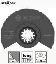 BOSCH Starlock BIM Segmentsägeblatt ACZ 100 BB 100 mm, Holz  Metall, Multicutter