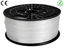 FILAMENT - FIL imprimante 3D PLA 1.75mm BLANC 1Kg  CE-ROHS PLA175WHI