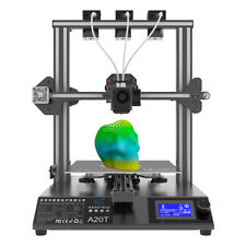 US Stock! Geeetech A20T 3D Printer Silent Print FDM Tech fit Auto Level &3D Wifi