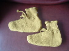 HAND KNITTED LADIES BED SOCKS