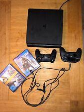 Sony PlayStation PS4 Slim 500 GB, 2 Controller, 2 Spiele (Destiny), OVP