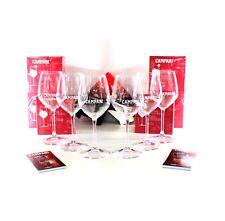 CAMPARI Gastropaket 6er Set Gläser Longdrink Weinglas Cocktail Servietten Bar
