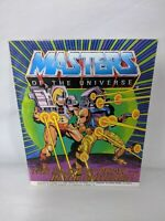 MOTU He-Man Masters of the Universe 1986 The Fastest Draw in the Universe