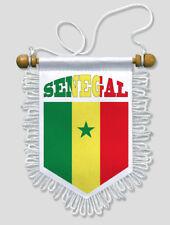 FANION VOITURE SENEGAL - 13 X 15 CM - BLASON ECUSSON FOOTBALL