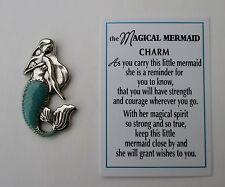 dd Magical Mermaid POCKET TOKEN CHARM strength courage magic spirit wish ganz