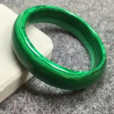 Genuine Natural Green Malachite Crystal Bangle Innder Diamater 55mm AAAA