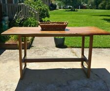 One Of A Kind - High End Custom Table - Hand Crafted, With Live Edge, - 6' x 3'