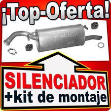 Silenciador Trasero TOYOTA YARIS VERSO 1.3 86HP 08.1999-11.2002 Escape EFH