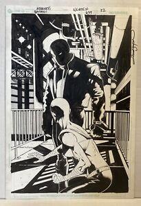 Batman 639 Jason Todd as Red Hood SPLASH PAGE Original Art MAHNKE and NGUYEN