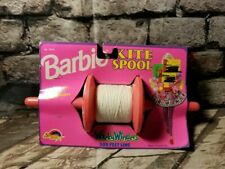 rare Barbie 1992 Kite Spool 300 feet never used made by Spectra Star t11