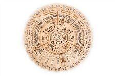 Wood Trick Aztec Mayan Wall Calendar Mechanical 3D Puzzle Self Assembly Decor