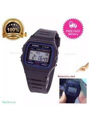 Genuine Casio F91W Classic Digital RETRO Sports Alarm Stopwatch Black Watch