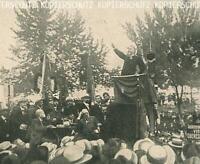 Cannstatt bei Stuttgart - Jaures spricht beim Kongress der Internationalen  1907