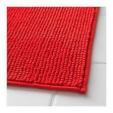 Red Bath Mat Ikea Bathmats Rugs Toilet Covers Ebay
