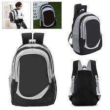 40L Waterproof Backpack Rucksack Hiking Camping Trekking Bag Laptop Bag Black UK