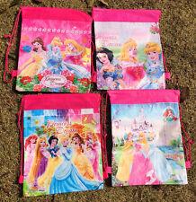 12pcs princess Environmental protection Bags Draw string backpack kids gifts P-1
