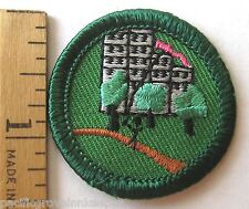 Girl Scout 2001-11 Junior OUTDOORS FUN IN THE CITY BADGE City Skyline Patch NEW