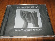 """PRIMIGENIUM """"Faith Through Anguish"""" CD decayed ad hominem"""