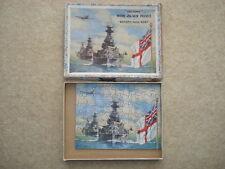 """C1937 VITTORIA Legno Puzzle, intitolata """"Britains Naval potrebbe"""""""
