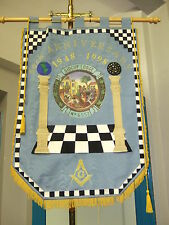 Stunning unique hand made Masonic or organisation specific banner