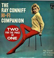 "RAY CONNIFF HI-FI COMPANION Collectable Vintage Vinyl 12"" Double LP Album KA"