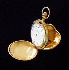 Elgin Pocket Watch Ladies Size 6 Nicely Engraved Hunter Case 1889