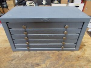 Hout 5 Drawer Number Drill Cabinet #1-49