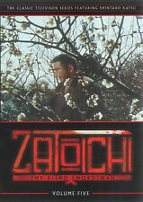 Zatoichi The Blind Swordsman Television Series Vol 5  DVD OOP - NEW