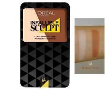 L´OREAL Paris Contouring Palette Infallible Sculpt (03 Medium/Dark) NEU&OVP