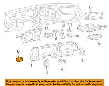 GM OEM-Headlight Headlamp Switch 93443101