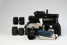 Minolta Maxxum 7000i 35mm SLR, Lenses and Accessories