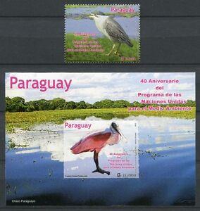Paraguay 2012 Vögel Birds Uccelli Oiseaux 5172 Block 494 Postfrisch MNH