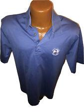 Pebble Beach Collection Made Italy Pure Cotton Polo Golf Shirt Size Medium Euc