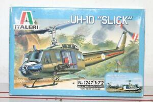 """Vintage ITALERI UH-10D """"SLICK"""" - MODEL KIT 2004 NEW IN BOX 1/72 SCALE"""