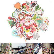 90pcs Sticker Decals Self Adhesive Label For Xmas Christmas New Year Decoration