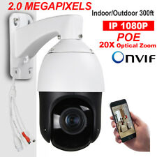 "CCTV HD 1080P 4"" MINI IP PTZ Camera High Speed Dome POE 20X ZOOM ONVIF xmeye P2P"