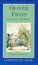 Oliver Twist: Authoritative Text Backgrounds and Sources Early Reviews-ExLibrary